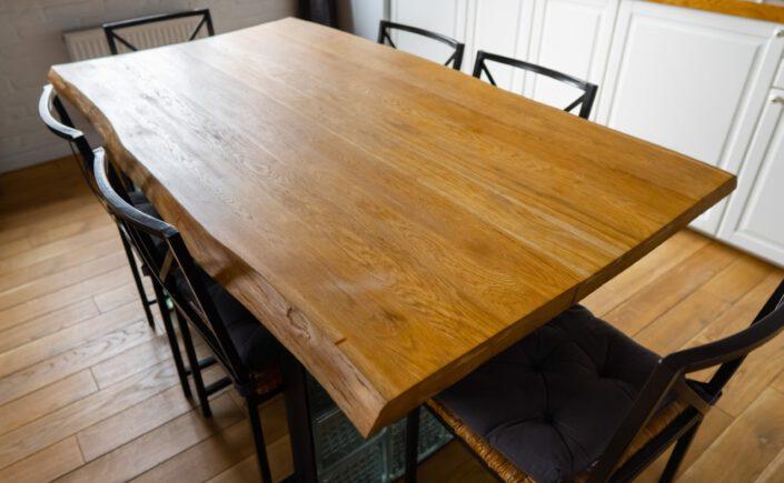 Tischplatten Eiche (nach Maß) bei Eichenholzprofi.de